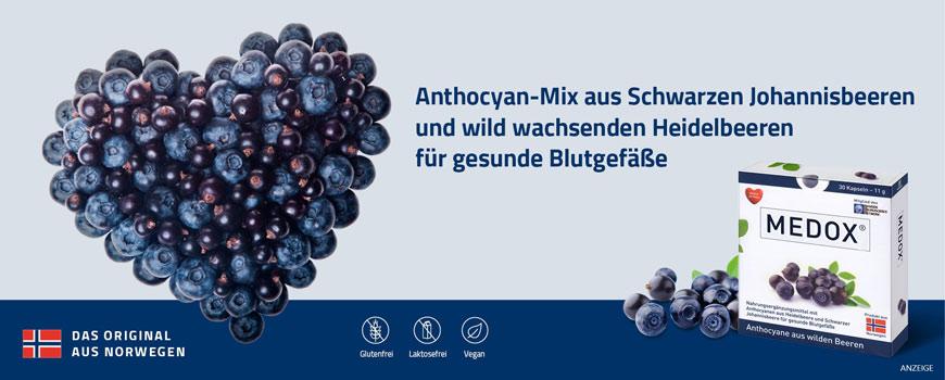 Medox Anthocyane aus wilden Beeren aus Ihrer Apotheke