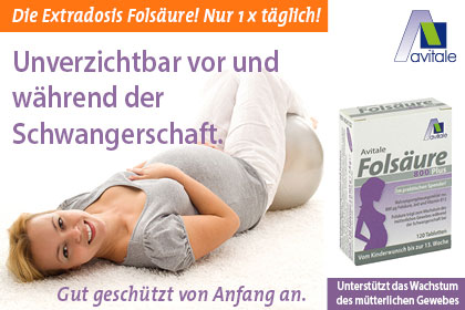 Folsäure 800 Plus B12 + Jod Tabletten