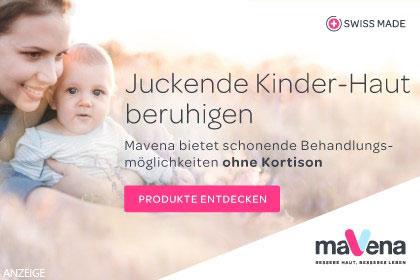 Mavena Pflegeprodukte für Kinderhaut aus Ihrer Apotheke