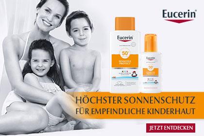 Eucerin Sonnenschutz für Kinder