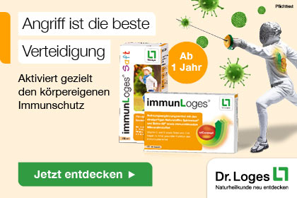 ImmunLoges Saft und Tabletten aus Ihrer Apotheke