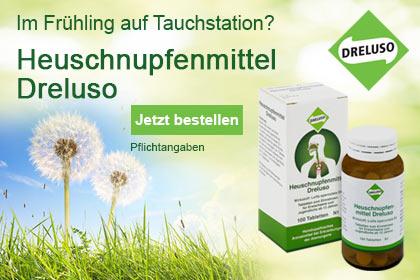 Dreluso – homöopathisches Heuschnupfenmittel aus Ihrer Apotheke