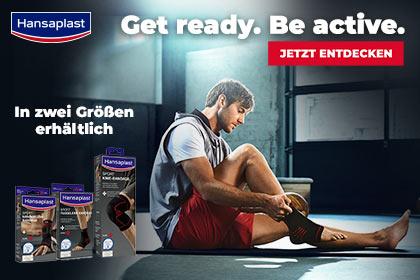 Hansaplast Sport Bandagen aus Ihrer Apotheke