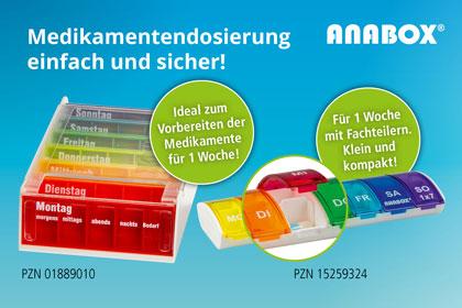 Anabox Medikamenteneinteiler aus Ihrer Apotheke