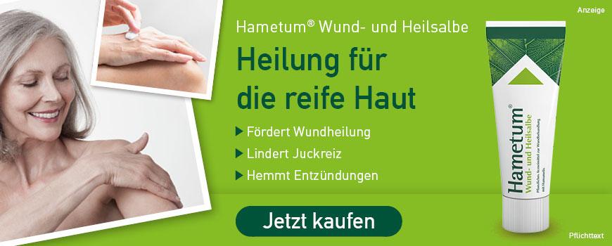 Hametum Wund- und Heilsalbe aus Ihrer Apotheke