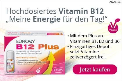Eunova B12 plus aus der  Apotheke