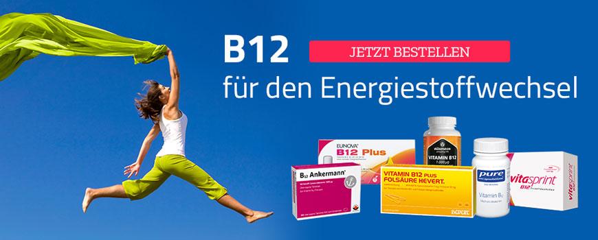 Vitamin B12 Produkte Gruppenbild