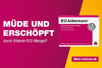 Hochdosiertes Vitamin B12 von Ankermann