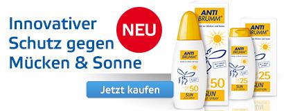 AntiBrumm: Innovativer Schutz gegen Mücken und Sonne