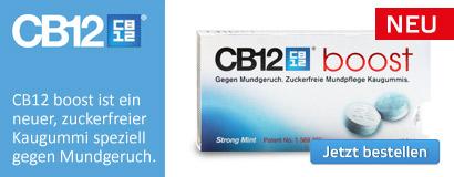 CB12 boost, gegen Mundgeruch.