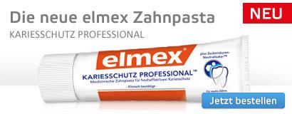 Die neue Elmex Zahnpasta.