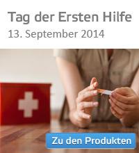 Tag der Ersten Hilfe, 13. September 2014.