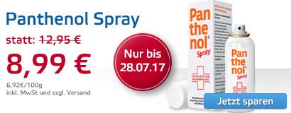 Panthenol Spray - jetzt sparen!