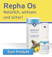 Repha OS Mundspray - pflanzliches Mundspray mit natürlichem Wirkstoffkomplex