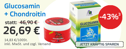 Glucosamin plus Chondroitin