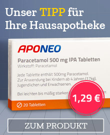 Paracetamol 500 mg IPA Tabletten von APONEO