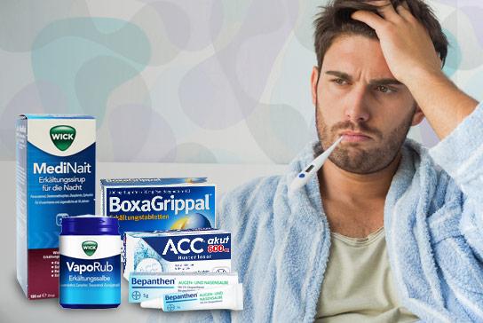 Bild-Text-Teaser Arzneimittel Erkältung