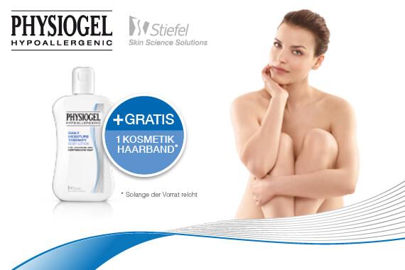 Bild-Text-Teaser Körperpflege Kosmetik Physiogel