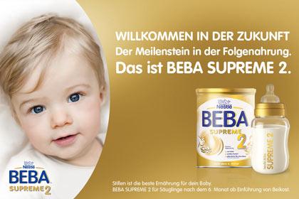 BEBA Supreme 2 Pulver für Babys nach dem 6. Monat