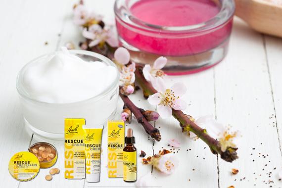 Bild-Text-Teaser Natur Homöopathie Bachblüten