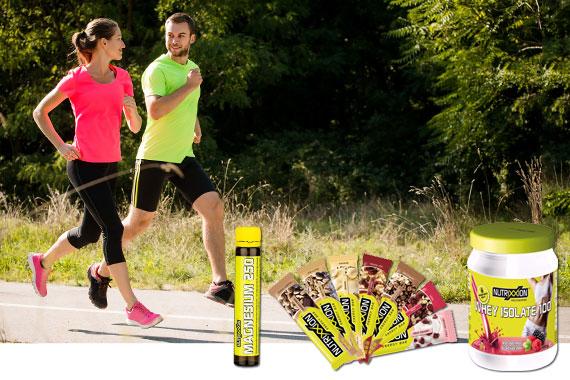 Bild-Text-Teaser Sport Fitness Nutrixxion