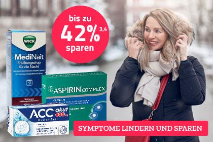Produkte bei Erkältung