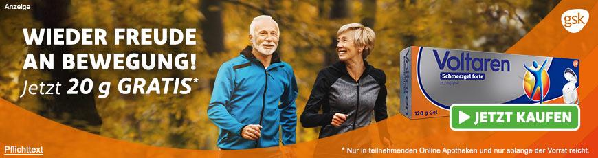 Voltaren Schmerzgel forte Sondergröße: 100g + 20g gratis aus Ihrer Apotheke
