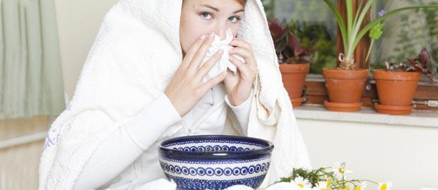 hausmittel bei bronchitis dampfbad kamille thymian. Black Bedroom Furniture Sets. Home Design Ideas