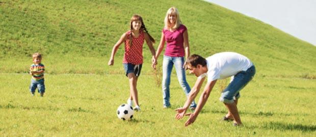 Kicken bis der Spaß kommt