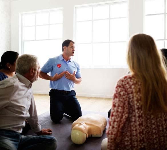 Wiederbelebungsmaßnahmen – Erste Hilfe am Unfallort