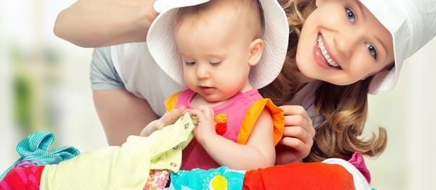Reisen mit Baby und Kind