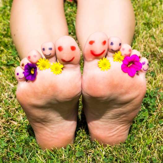 Fußpilz – Was Sie wissen sollten